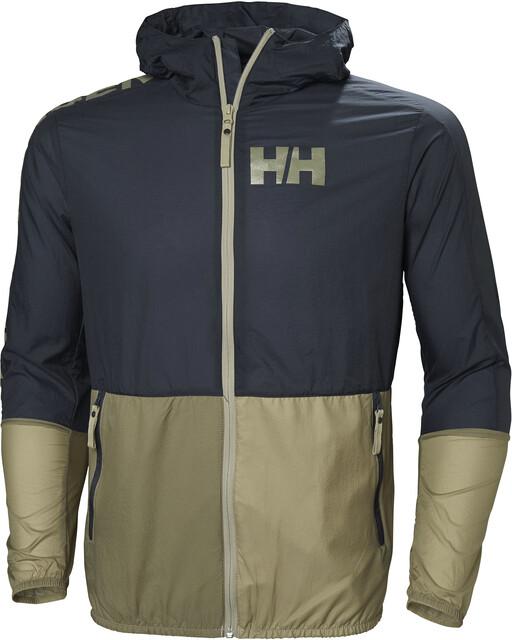 Active Helly Veste vent blue Hansen coupe Hommegraphite RLSc3Ajq54